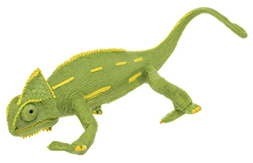 Safari Ltd Incredible Creatures Veiled Chameleon Baby Hand-Painted Toy Figurine For Ages 3 And Up -