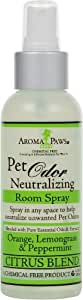 Aroma Paws Odor Room Spray, 4.5-Ounce, Citrus