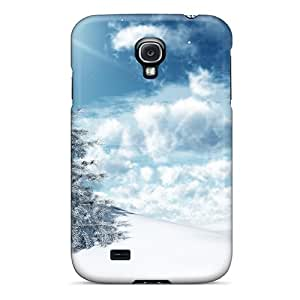 Norelson ZnstgOB1225dRSKp Case For Galaxy S4 With Nice Oh Christmas Tree Appearance