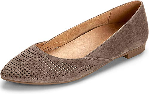 Vionic Gem Posey Ballet Flat Taupe 7W