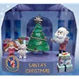 Rudolph the Red-Nosed Reindeer Santa's Christmas Scenic Display PVC Figurine Set
