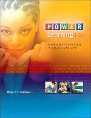 POWER Learning: Strategies for Success in College and Life (with BookMark, Online Learning Center Bind-In Card)