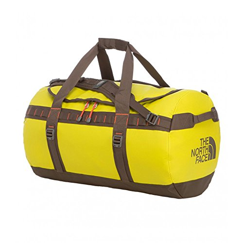 North Face Base Camp Medium Duffel Bag in Citron Green