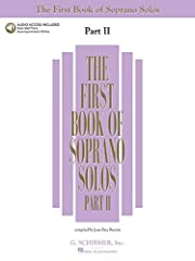 (Vocal Collection). More great teaching material at the same level as the first volume. Over 30 songs in each volume with no song duplicated between voice types. A student could easily begin either in The First Book or The First Book Part II,...