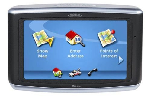 Magellan Maestro 4050 4.3-Inch Widescreen Bluetooth Portable GPS Navigator (with 3 month free traffic)