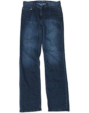 Calvin Klein Men's Jeans Size 30x32, Vintage Indego Denim Straight Cut