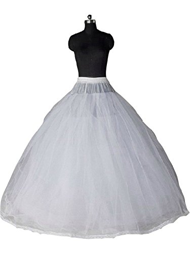 (Sisuly Gauze Bridal Crinoline Petticoat for Ball Gown Wedding Dress)
