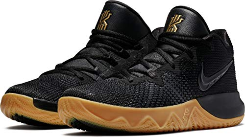 sports shoes 59b67 272ac Nike Unisex Kyrie Flytrap Basketball Shoes (Black Metallic Gold Anthracite,  10.5 D(M) US)
