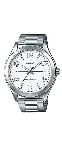 Casio-MTP-VX01D-7B-Mens-Standard-Stainless-Steel-Big-Case-White-Dial-Watch