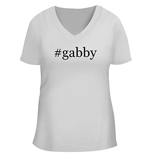 BH Cool Designs #Gabby - Cute Women's V Neck Graphic, used for sale  Delivered anywhere in USA