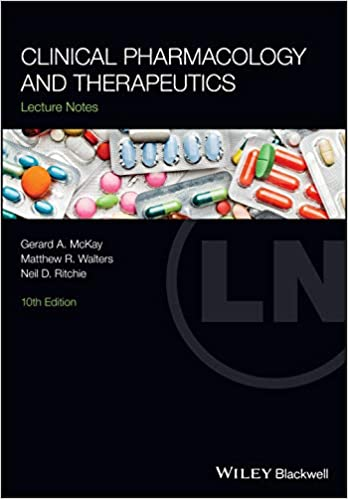 Clinical Pharmacology and Therapeutics (Lecture Notes), 10th Edition - Original PDF