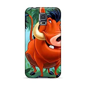 Shock Absorption Cell-phone Hard Cover For Samsung Galaxy S5 With Support Your Personal Customized Colorful The Croods Image DrawsBriscoe