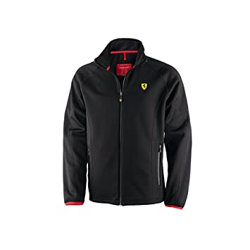 Amazon.com: Ferrari Men's Fleece Jacket (Black): Automotive
