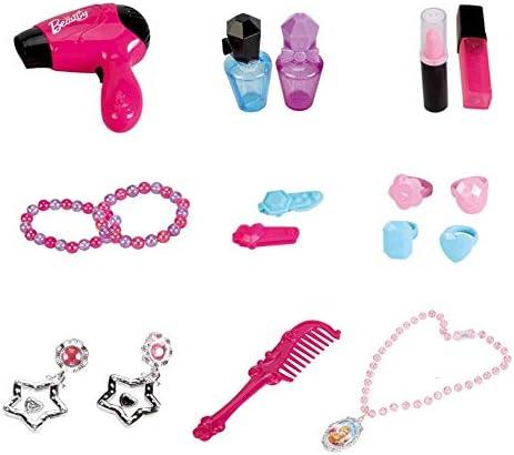 子供のおもちゃ 女の子のための美しくメイクアップ - ごっこ遊び&ドレスアップメイクアップキット玩具女の子キッズビューティーサロンのおもちゃ 想像力と認識力を養う (色 : ピンク, Size : 78.5*46cm)