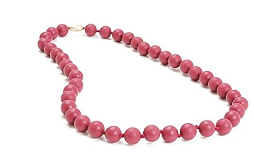 chewbeads® Jane Necklace in Wine