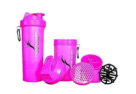 FrontRunner Fitness Premium Rifornire Shaker V2 - Proteine_Shaker - Water Bottle - 800 mL (Rosa)