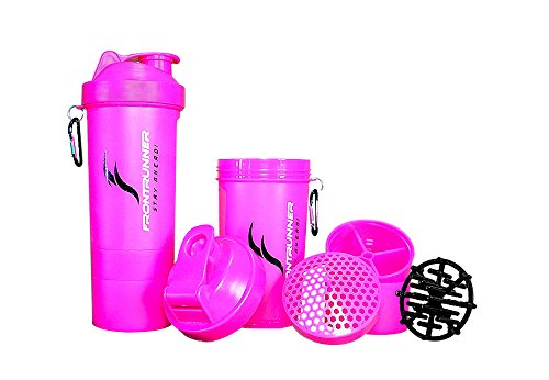FrontRunner Fitness Premium Refuel Shaker - Protein Shaker - Water Bottle - 800mL (Hot Pink)