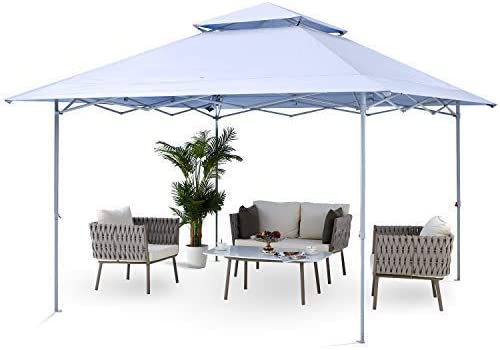 ABCCANOPY 13×13 Canopy Tent Instant Shelter Pop Up Canopy 169 sq.ft Outdoor Sun Shade
