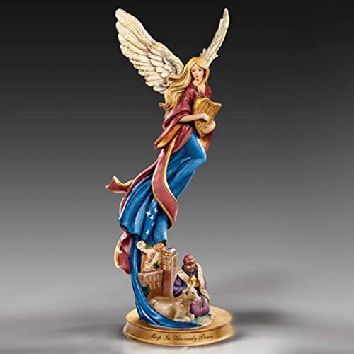 Thomas Kinkade Sleep in Heavenly Peace Nativity Angel Figurine