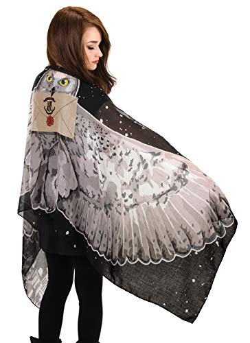 elope Harry Potter Hedwig Light Wing Scarf for Women]()