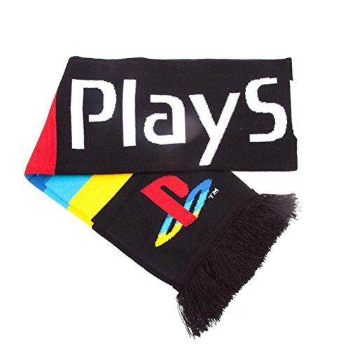 Écharpe tricotée multi-couleurs Écossaise Unisex PlayStation Big Logo
