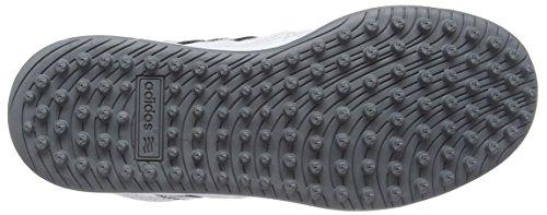 adidas 360 Traxion Unisex - Zapatillas para niños Blanco (White/Core Black/Silver Met)