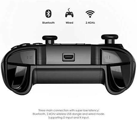 GameSir T2a - Mando de Juego Bluetooth Android para Android y PC, 2,4 G, inalámbrico, Mando para Windows PC/Android, Smartphone, Tableta, TV Box/Steam OS/VR: Amazon.es: Electrónica