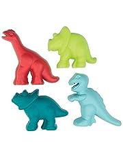 Écoiffier E 0173 - net met 4 dinosaurussen zandvormpjes