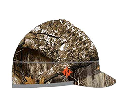 Nomad Outdoor Harvester Billed Beanie, Realtree Edge/Charcoal Grey, One Size