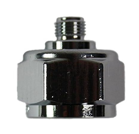 Adapter fü r Schutzgas-Mehrwegflaschen (macht die Mehrwegflasche zur Einwegflasche) HausundWerkstatt24