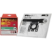 Miele FJM Synthetic Vacuum Bags and Filters by Filtrete, 5 Bags and 2 Filters (Pack of 3) Size: 15 Bags and 6 Filters Model: