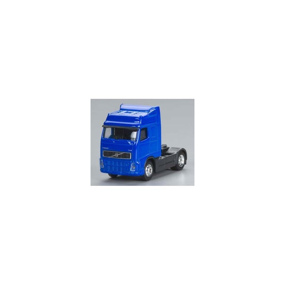 20401 1/87 Volvo Semi Truck Cab Blue HO