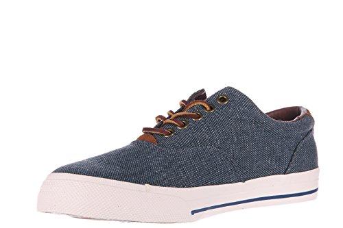 Polo Ralph Lauren Herrenschuhe Herren Nylon Sneakers Schuhe vaugh Grau