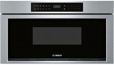 """Bosch HMD8053UC 30"""" 800 Series Drawer Microwave with 1.2 cu. ft. Capacity,, in Stainless Steel"""