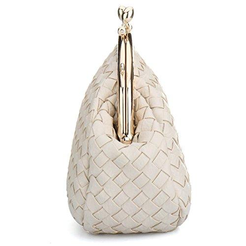 Bag pour Evening Blanc femme Cass Pochette SSMK pxTqn5p