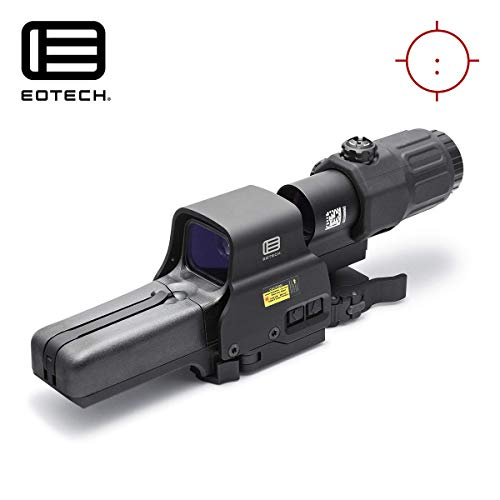 HHS III Holographic Hybrid Sight - 518-2 with G33 Magnifier (Best Eotech Holographic Sight)