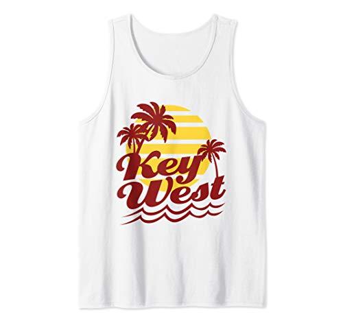 Key West Florida Vacation Souvenir Gift Beach Tank Top