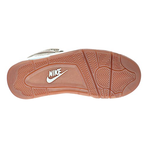 Nike Flight Trupp Mens Skor Metallic Rödgods / Vit 724986-900
