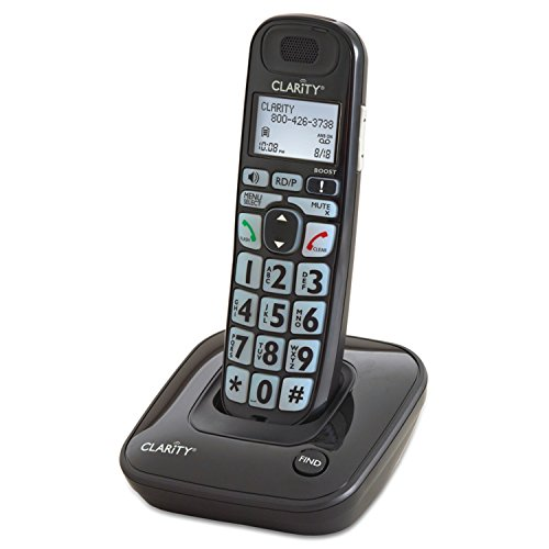 Clarity E814CC Amplified Corded/Cordless Combo with Answering Machine- Bundles (Clarity E814CC)