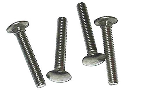 Carriage Bolts Stainless Steel 18-8 (304), 3/8