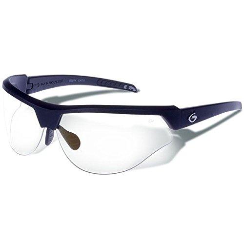 - Gargoyles Performance Eyewear Cardinal PR Polycarbonate Safety Glasses, Matte Black Frame/Clear Lenses