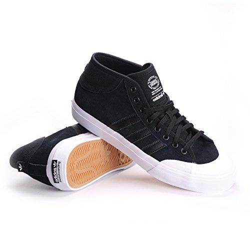 ca625e3d5190 Galleon - Adidas Matchcourt Mid (Core Black Core Black White) Men s Skate  Shoes-11.5
