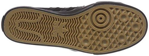 adidas Herren Matchcourt High RX Gymnastikschuhe, Schwarz (Core Black/Core Black/Core Black), 42 EU