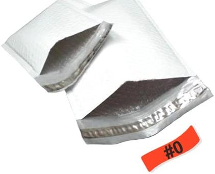 White//Grey Peel /& Seal 6.5x10 Bubble PolyMailer Padded Envelopes 6.5 x 10 inch 250 Pack