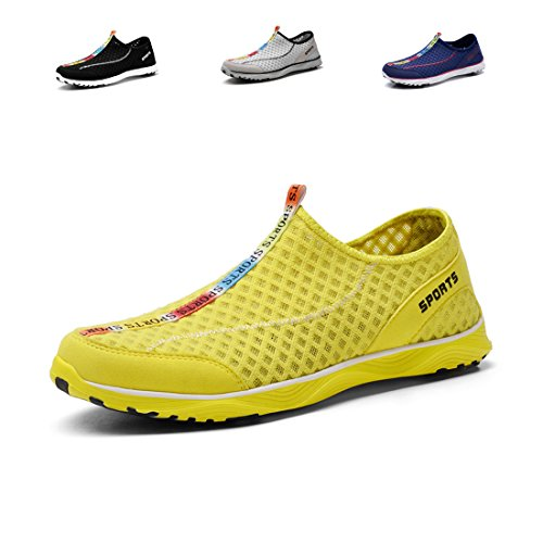 Men's Hollow Breathable Perforated Multifunctional Sneakers Lightweight Aqua Shoes