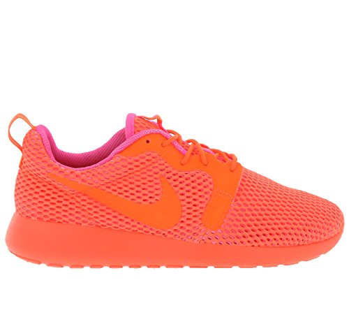 Nike Wmns Roshe One Flyknit Women Lifestyle Sneakers Casual Cremisi / Rosa Esplosione