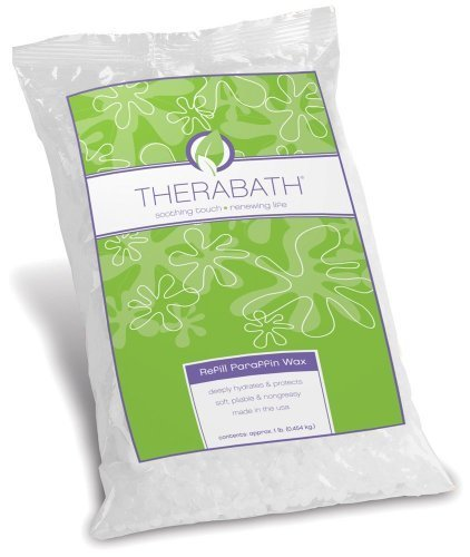 Therabath Refill Paraffin Wax, Scent Free, 6 Pounds by Therabath [Beauty]