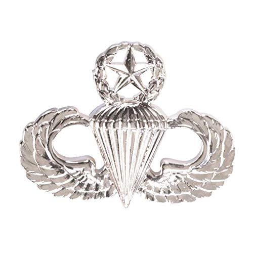 Medals of America Army Master Parachute Badge Mirror Finish Regulation Size Full Size