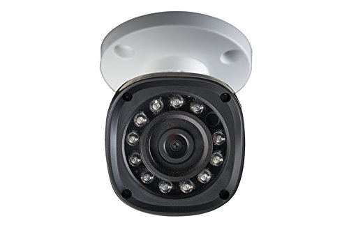 Lorex LBV2521B High Definition 1080p 2MP Weatherproof Night Vision Security Camera (White)