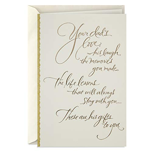 Hallmark Sympathy Card for Loss of Dad (Gifts to You) (Best Gift Cards For Dad)